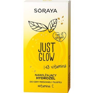 Soraya Just Glow – nawilżający hydrożel do cery mieszanej i tłustej z witaminą C (50 ml)