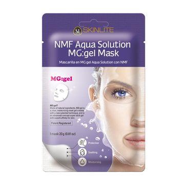 Skinlite NMF Aqua Solution MG: Gel Mask – maska hydrożelowa (1 szt.)
