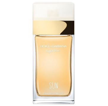 Dolce & Gabbana – Light Blue Sun Pour Femme woda toaletowa spray (25 ml)