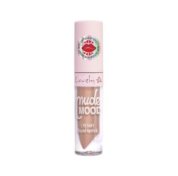Lovely Nude Mood Creamy Liquid Lipstick – kremowa pomadka do ust 2 (1 szt.)