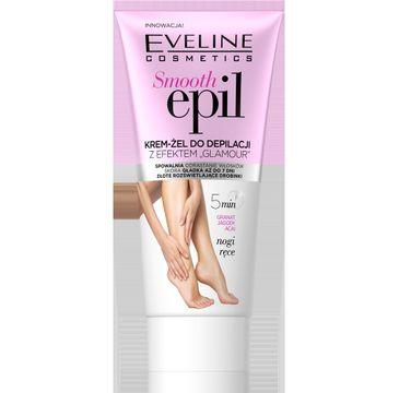 """Eveline Smooth Epil – krem-żel do depilacji z efektem """"glamour"""" (175 ml)"""