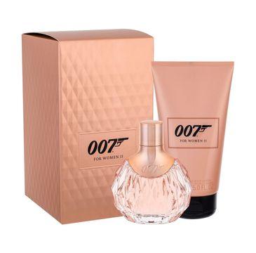 James Bond 007 For Women II zestaw woda perfumowana spray 50ml + balsam do ciała 150ml