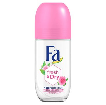 Fa Fresh & Dry 48h - dezodorant roll-on Peony Sorbet (50 ml)