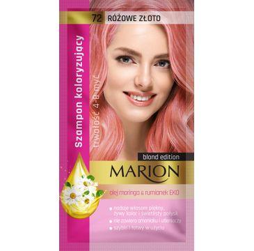 Marion – szampon koloryzujący nr 72 Różowe złoto (1 szt.)