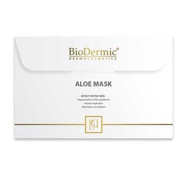 Biodermic – Aloe Maska na twarz na tkaninie z aloesem (25 ml)
