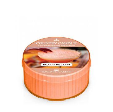 Country Candle – Daylight świeczka zapachowa Peach Bellini (35 g)