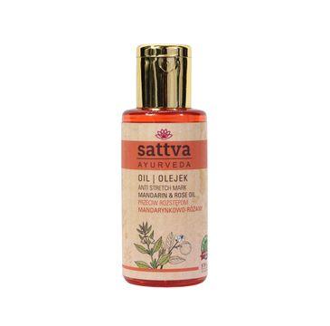 Sattva Anti Stretch Mark Oil olejek do ciała przeciw rozstępom Manadarin & Rose 100ml