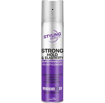 Joanna – Styling Effect Lakier do włosów supertrwałość i elastyczność bardzo mocny (250 ml)