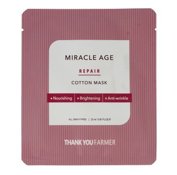 Thank You Farmer True Miracle Age – maska w płacie (1 szt.)