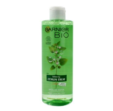 Garnier BIO – płyn micelarny normalizujący Melisa (400 ml)