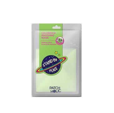 Patch Holic – Zielona kojąca maska w płachcie Colorpick Soothing Mask  (20 ml)