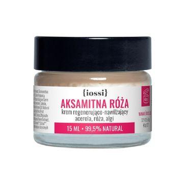 iossi – Aksamitna Róża krem regenerująco-nawilżający do twarzy acerola & róża & algi (15 ml)