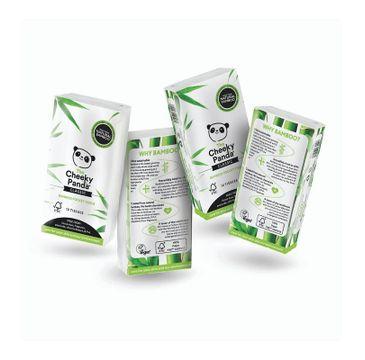 The Cheeky Panda – Bamboo Pocket Tissue bambusowe chusteczki higieniczne kieszonkowe (8 x 10 szt.)