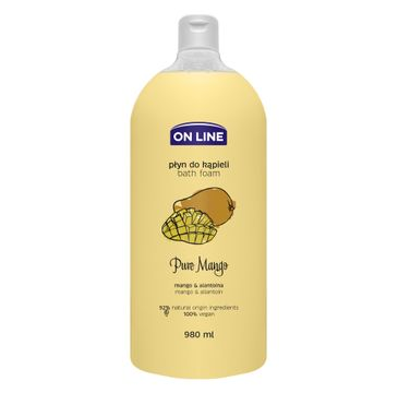 On Line – Płyn do kąpieli Pure Mango (980 ml)