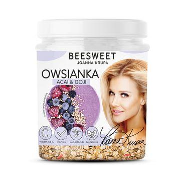 Beesweet – Owsianka Acai & Goji (60 g)