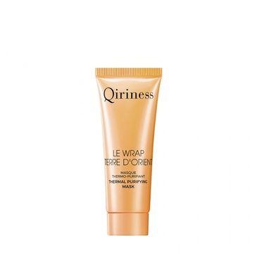 Qiriness – Le Wrap Terre D'Orient mini maska do twarzy rozgrzewająco-oczyszczająca (20 ml)