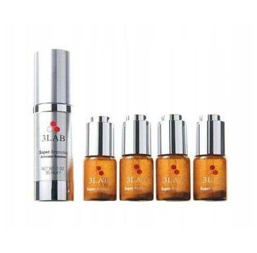 3LAB – Super Ampoules Brightening Lifting & Anti-Aging serum rozjaśniająco-liftingujące w ampułkach (4x0.7g)