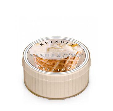 Kringle Candle Daylight – świeczka zapachowa Vanilla Cone (35 g)