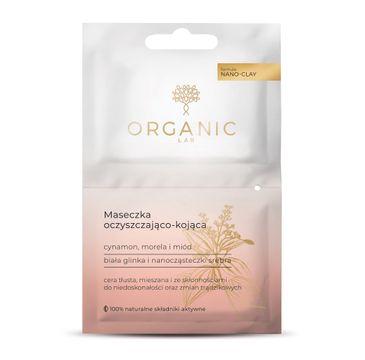 Organic Lab – maseczka oczyszczająco-kojąca do cery tłustej i mieszanej Cynamon Morela i Miód (2 x 6 ml)