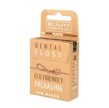 Beauty Formulas – Nić dentystyczna eco Friendly (50 m)