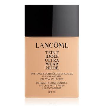 Lancome – Teint Idole Ultra Wear Nude lekki podkład matujący do twarzy 021 Beige Jasmin (40 ml)