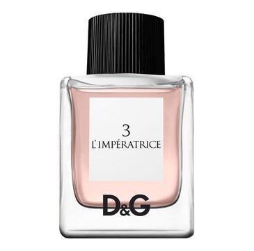Dolce&Gabbana 3 l'Imperatrice woda toaletowa spray 50ml