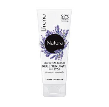 Lirene Natura Eco – krem-serum regenerujące do stóp Organiczna Lawenda (75 ml)