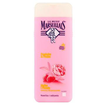 Le Petit Marseillais – żel pod prysznic Malina i Piwonia (400 ml)
