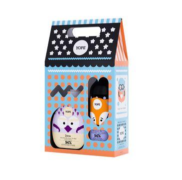 Yope – zestaw kosmetyków dla dzieci – mydło do rąk Jaśmin + żel pod prysznic Pomarańcza (1 op.)