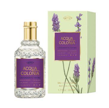 4711 – Acqua Colonia Lavender & Thyme woda kolońska spray (50 ml)
