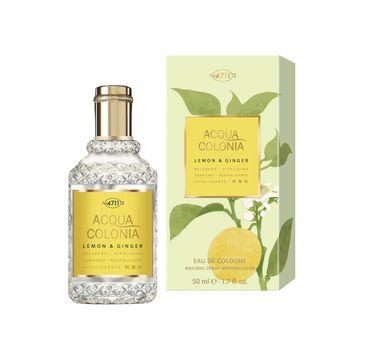 4711 Acqua Colonia Lemon & Ginger woda kolońska spray 50ml