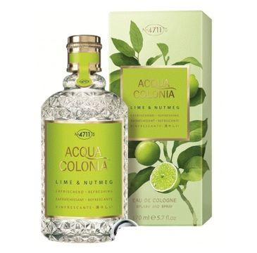 4711 Acqua Colonia Lime & Nutmeg woda kolońska spray 170ml