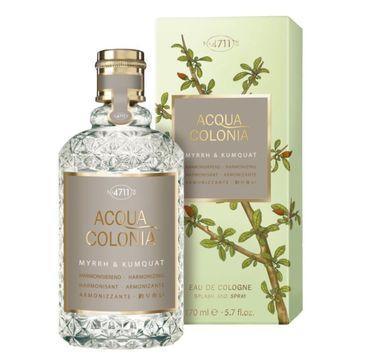 4711 – Acqua Colonia Myrrh & Kumquat woda kolońska spray (170 ml)
