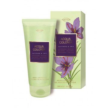 4711 – Acqua Colonia Saffron & Iris żel pod prysznic (200 ml)