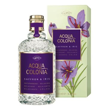 4711 Acqua Colonia Saffron & Iris woda kolońska spray 170ml