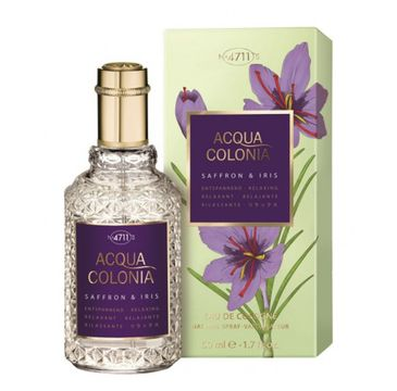4711 Acqua Colonia Saffron & Iris woda kolońska spray 50ml