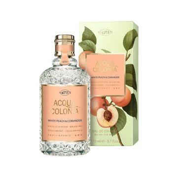 4711 Acqua Colonia White Peach & Coriander woda kolońska spray 170ml