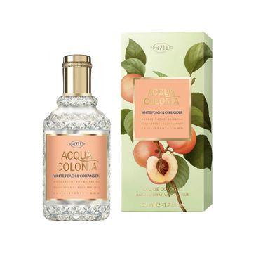 4711 Acqua Colonia White Peach & Coriander woda kolońska spray 50ml