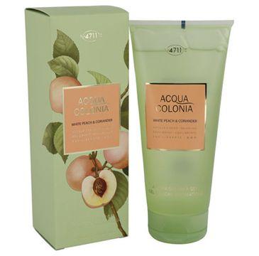 4711 Acqua Colonia White Peach & Coriander żel do mycia 200ml