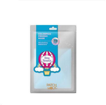 Patch Holic – Niebieska ujędrniająca maska w płachcie Colorpick Firming Mask  (20 ml)