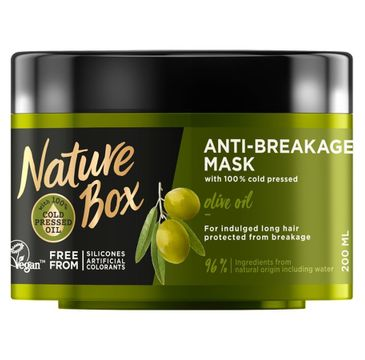 Nature Box – Mask maska do włosów Olive Oil (200 ml)