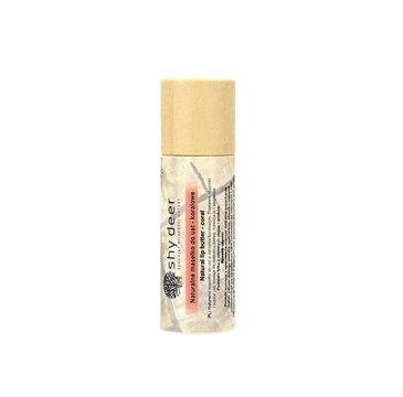 Shy Deer – Natural Lip Butter naturalne masełko do ust Koralowe (12 ml)