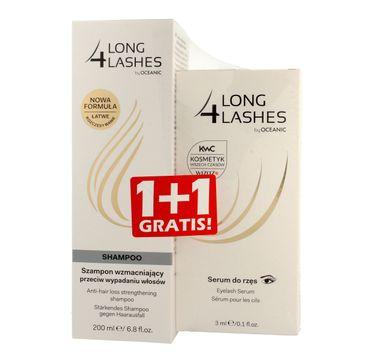 4 Long Lashes Duo Serum do rzęs 3 ml + Szampon wzmacniający 200 ml gratis