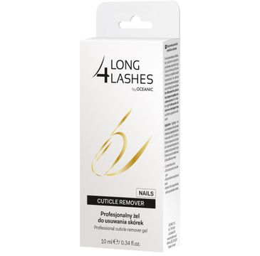 4 Long Lashes Nails Profesjonalny Żel do usuwania skórek 10 ml