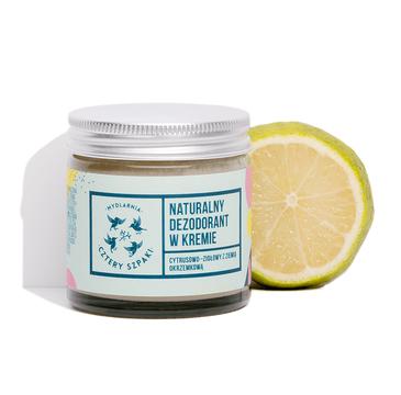 4 Szpaki – kremowy dezodorant cytrusowo-ziołowy (60 ml)