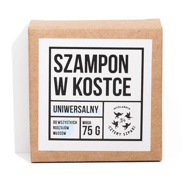 4 Szpaki – uniwersalny szampon w kostce do każdego rodzaju włosów (75g)