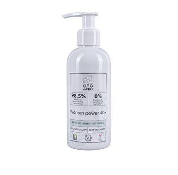 Active – Organic Woman Power 40+ płyn do higieny intymnej (200 ml)
