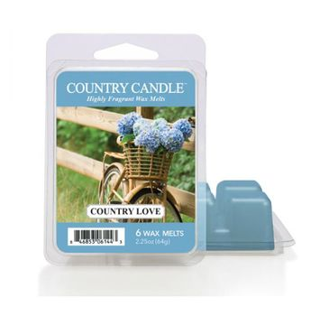 Country Candle – Wax wosk zapachowy Country Love (64 g)