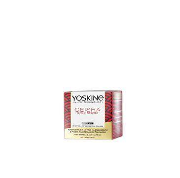 Yoskine Geisha Gold Secret (krem na dzień i na noc  z pyłem z kamienia księżycowego 50 ml)