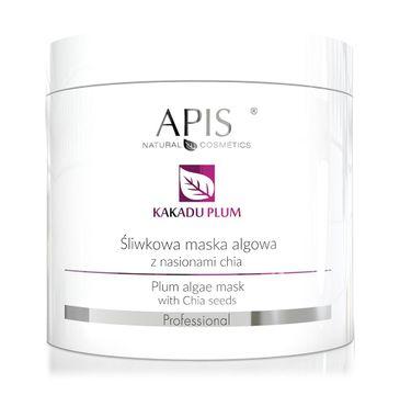 APIS – śliwkowa maska algowa z nasionami chia Kakadu Plum Algae Mask (250 g)